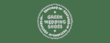 high tea hire green wedding shoes