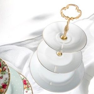 Cristina Re 3-tier cake stand white