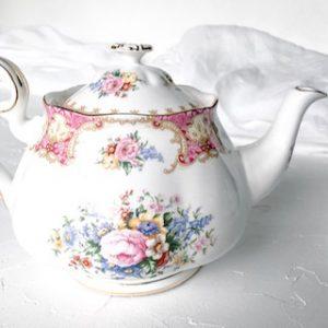 high tea set hire royal albert lady carlyle teapot