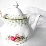 high tea set hire teapot royal albert OCR