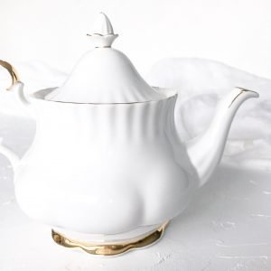 high tea set hire royal albert val d'or