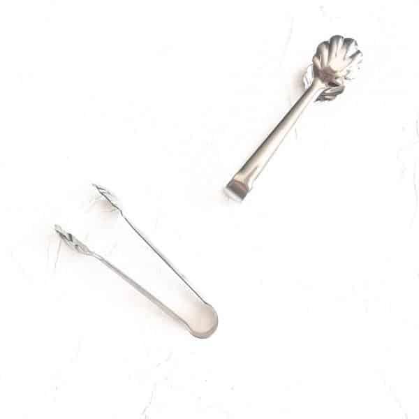 vintage cutlery silver sugar tongs