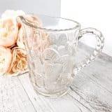 drink-station-hire-pressed-glass-leaf-detail-jug