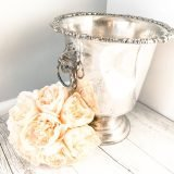 vintage silver ice bucket for hire
