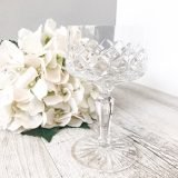 hire vintage champagne coupes
