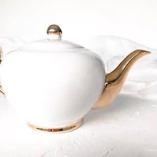 teapot hire sydney cristina re white