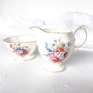 floral high tea set hire sydney