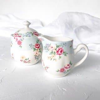 liberty print tea set