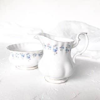 high tea set hire royal albert memory lane