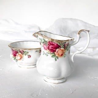 high tea set hire royal albert ocr