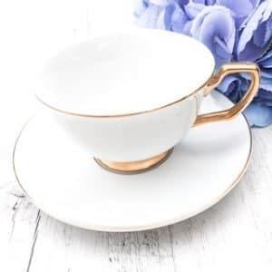 teacup hire cristina re white