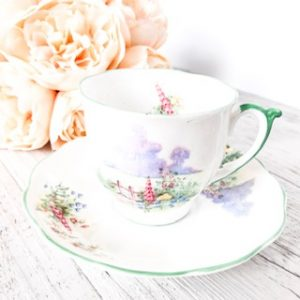 bone china teacup hire