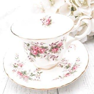 teacup hire sydney royal albert lavender rose