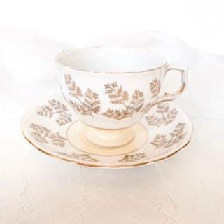 teacup hire sydney yellow bone china