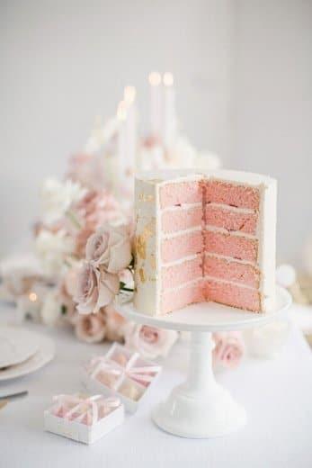 high tea hire cake