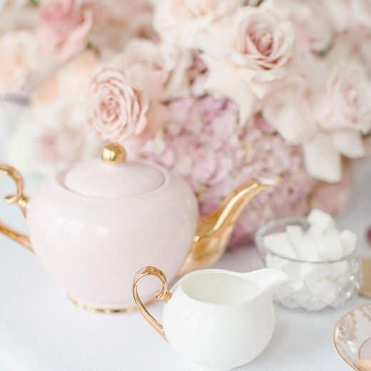 high tea hire teapot