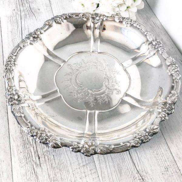 vintage serving platter melissa