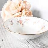 vintage china dessert bowls