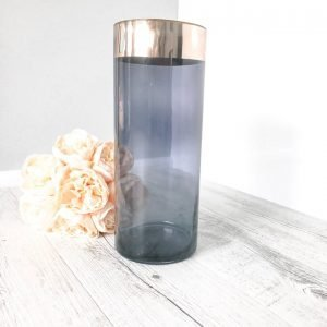 copper hurricane vase