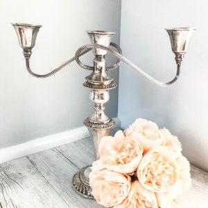 triple candlestick holder