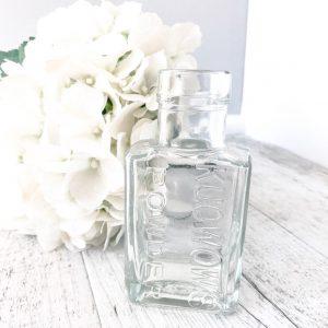 clear ink bottle bud vases
